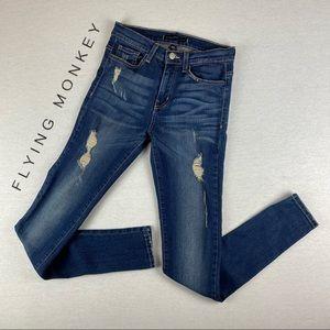 Flying Monkey Platinum High Rise Skinny Jeans